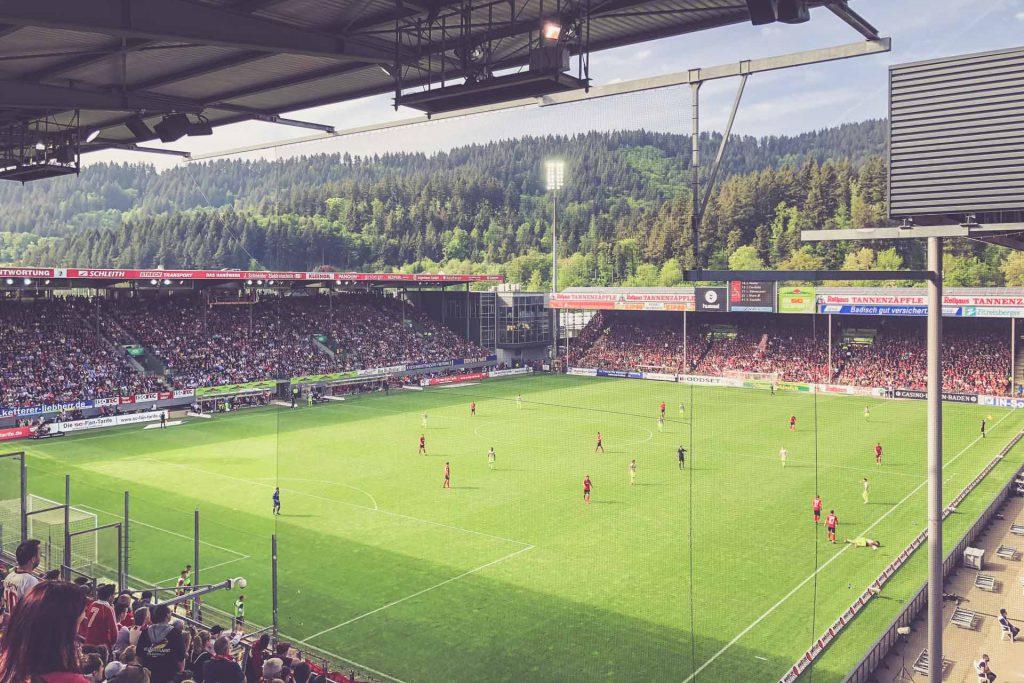 Schwarzwald-Stadion, SC Freiburg - 1. FC Köln