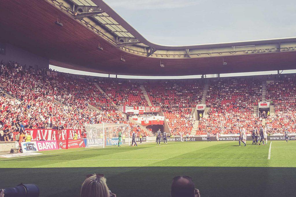 Eden Arena, Prag - Fankurve