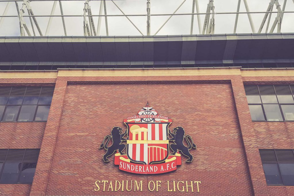 Stadium of Light Wappen, Sunderland