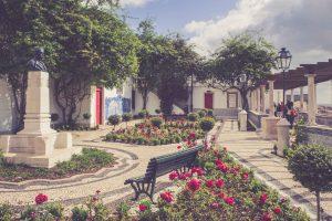 Lissabon Rosengarten