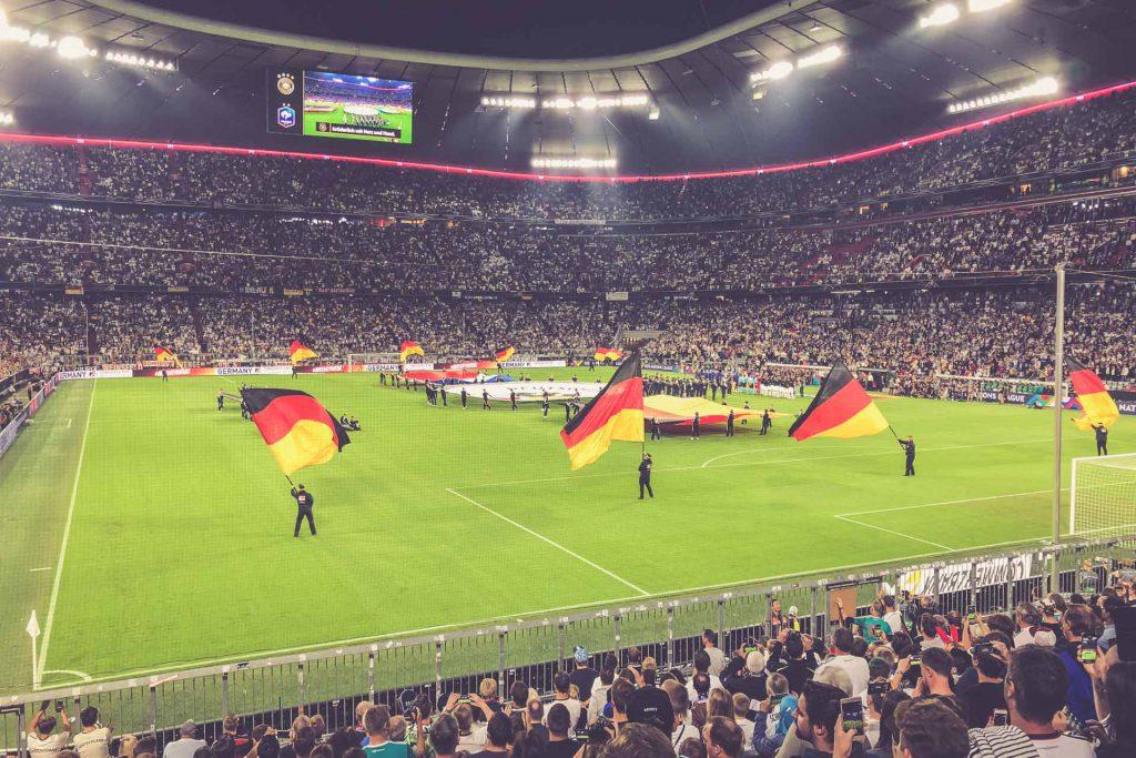 Allianz Arena, München: Deutschland - Frankreich