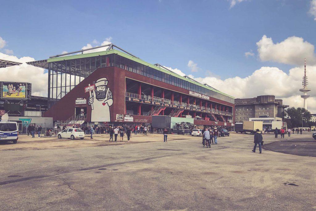 Millerntor-Stadion, Hamburg St. Pauli - Aussen