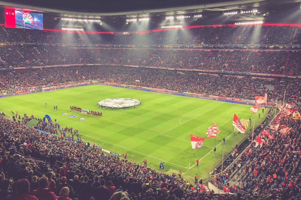 Allianz Arena, München - Champions League