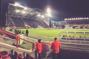 Regenboogstadion Fankurve, SV Zulte Waregem, Belgien