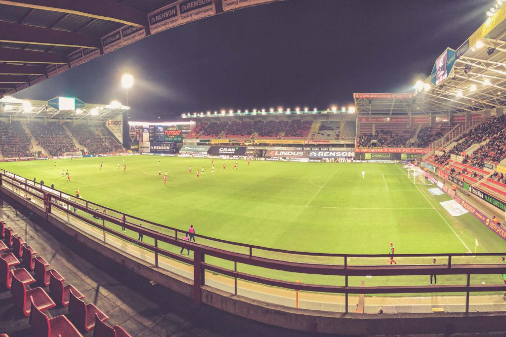 Regenboogstadion, SV Zulte Waregem - VV St. Truiden, Jupiler Pro League