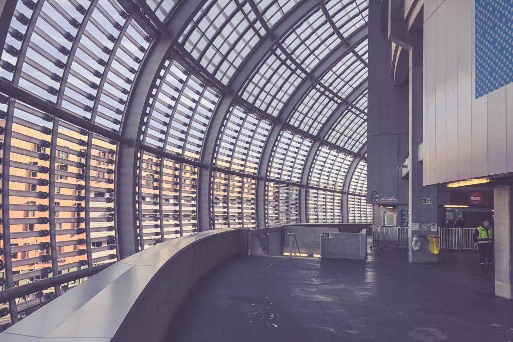 Stade Pierre-Mauroy Architektur, OSC Lille - Frankreich
