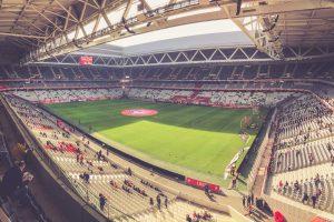 Stade Pierre-Mauroy innen, OSC Lille - Frankreich