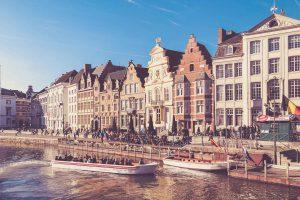 Gent - Häuserreihe