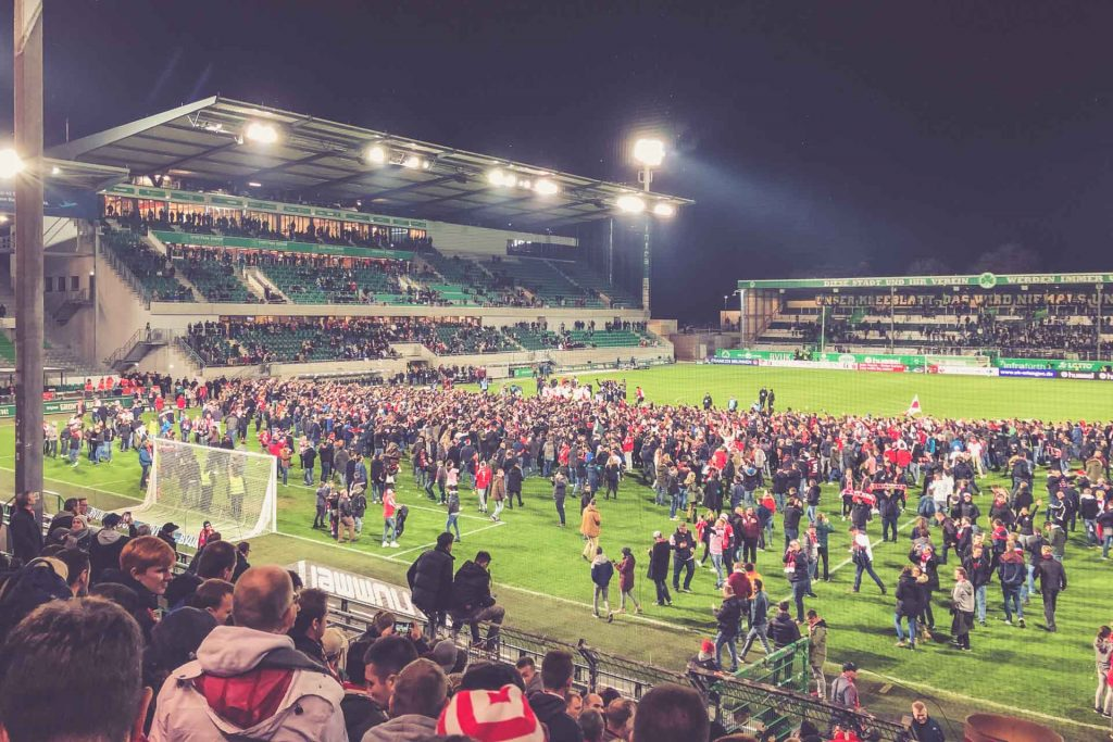 Sportpark Ronhof - Aufstieg 1.FC Köln