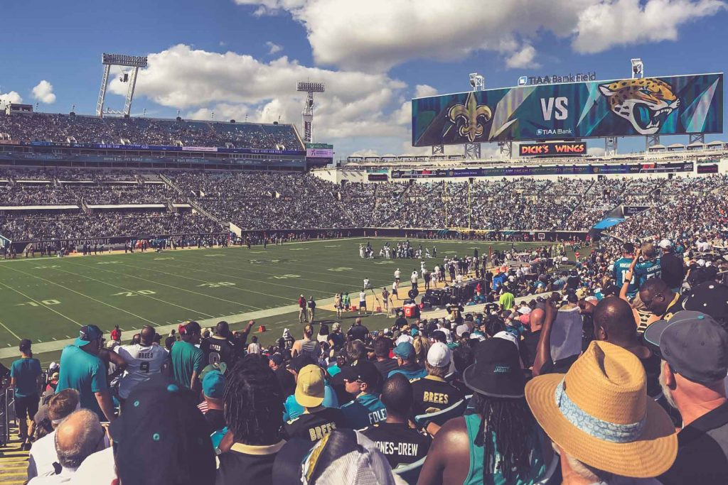 TIAA Bank Field, Jacksonville Jaguars - New Orleans Saints