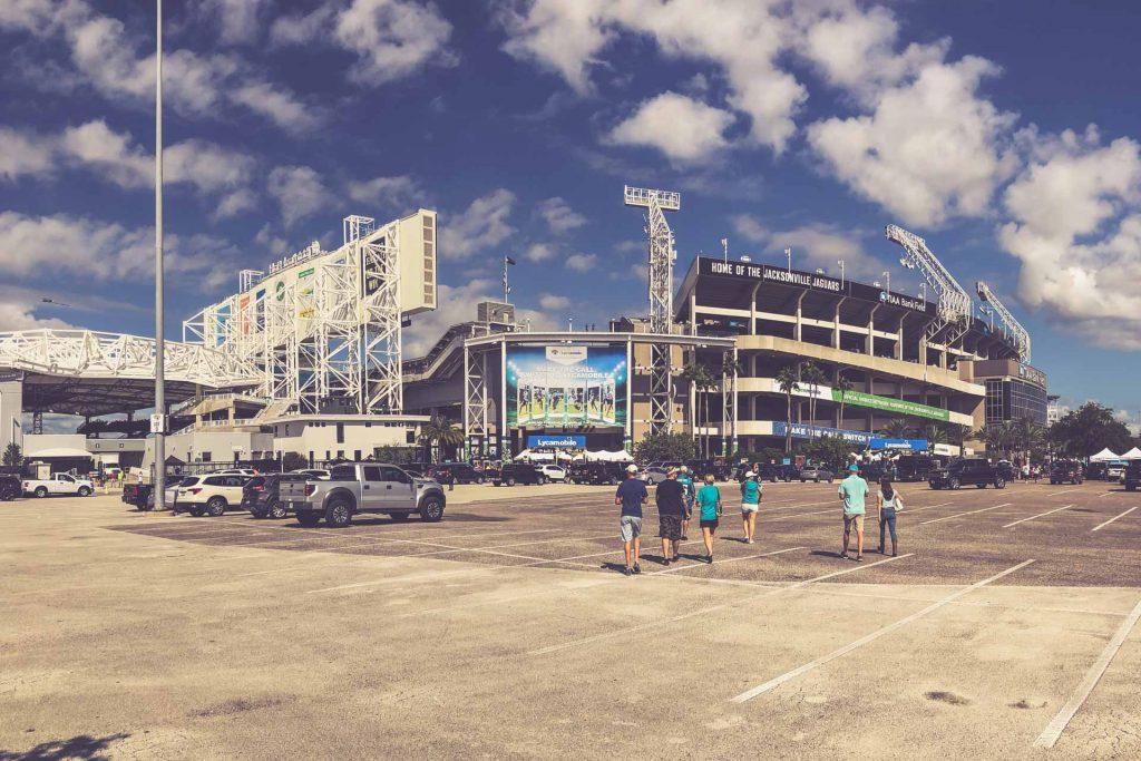 TIAA Bank Field, Jacksonville - Eingang