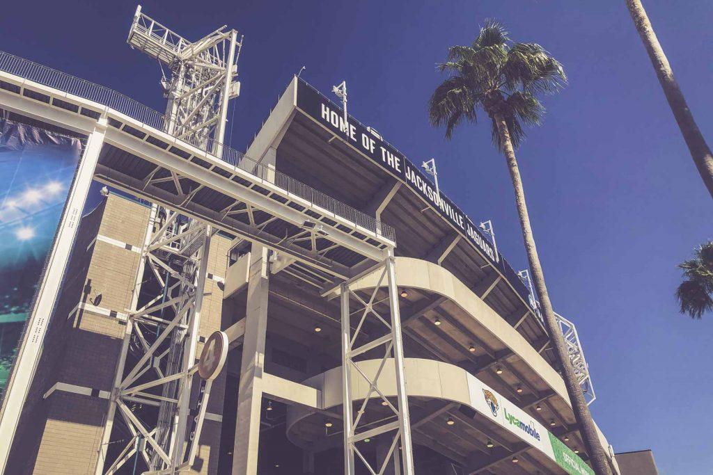 TIAA Bank Field, Jacksonville - Fassade