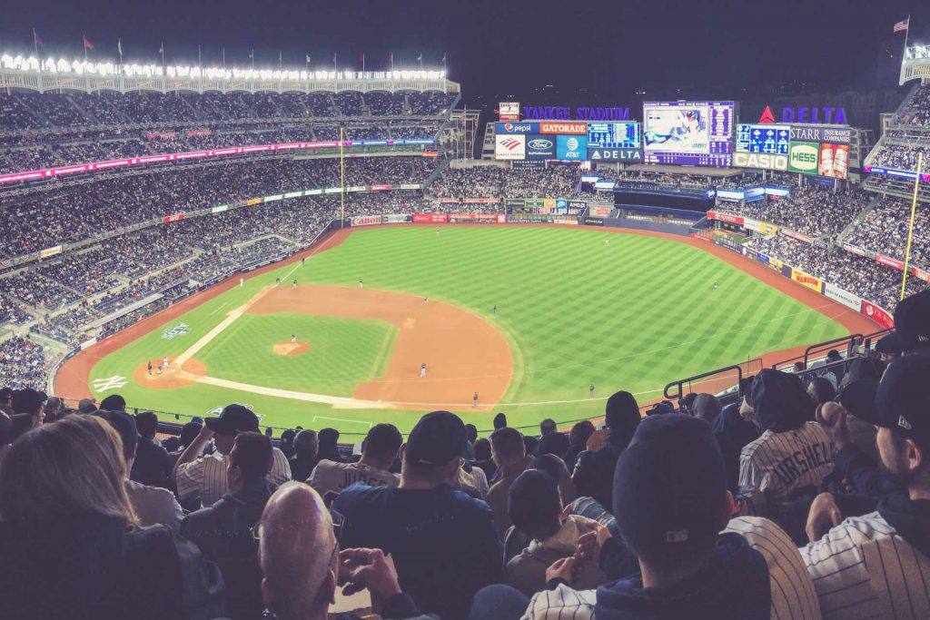 Yankees Stadium, New York City - Nacht