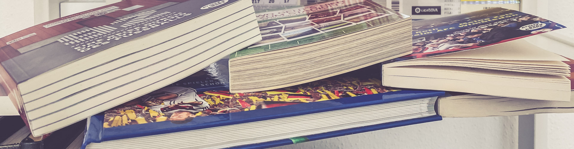 Groundhopping Bücher Header