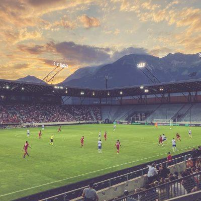 Tivoli Stadion Tirol, Innsbruck - Flutlichtspiel