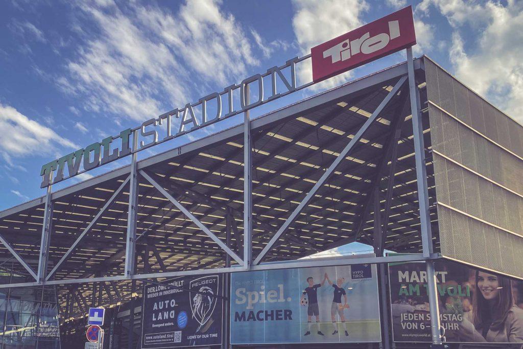 Tivoli Stadion Tirol, Innsbruck - Eingang