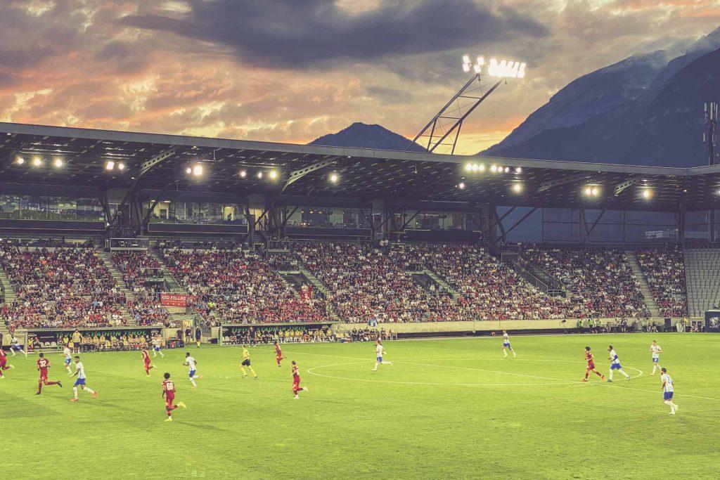 Tivoli Stadion Tirol, Innsbruck: Liverpool FC - Hertha BSC Berlin
