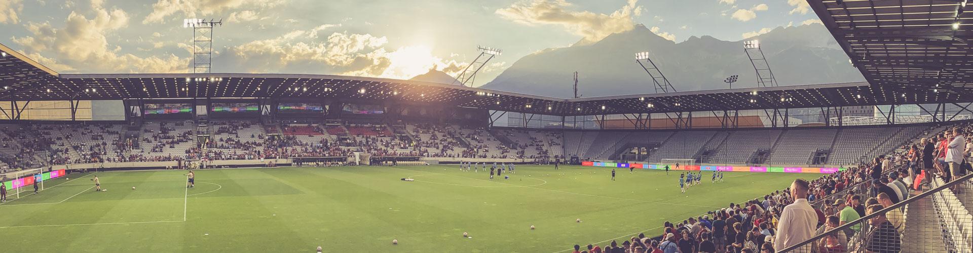 Tivoli Stadion Tirol, Innsbruck - Panorama